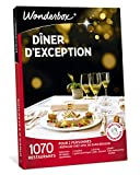 Wonderbox – Coffret cadeau pour couple - DÎNER D'EXCEPTION – plus...