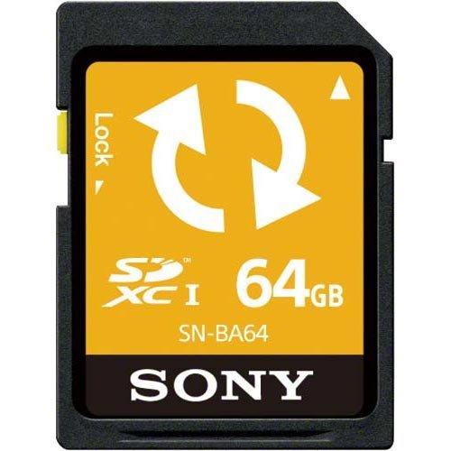 ソニー SDXCメモリーカード 64GB (バックアップ機能付) SN-BA64