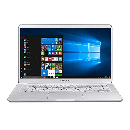SAMSUNG 15.0' 16GB Memory 256 GB SSD Laptop Notebook 9 Intel Core i7 8th Gen 8550U 1.80 GHz NVIDIA GeForce MX150 Windows 10 Home 64-Bit Model NP900X5T-X01US