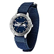 The Tailgater Series Watch features a Velcro Strap with a Black or Team Color Band Officially Licensed by the NFL The Tailgater is a great gift for Youth fans The Tailgater Series, Features Analog movement for time keeping function
