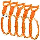 Vastar 5 Pack 19.6 Inch Drain Snake...