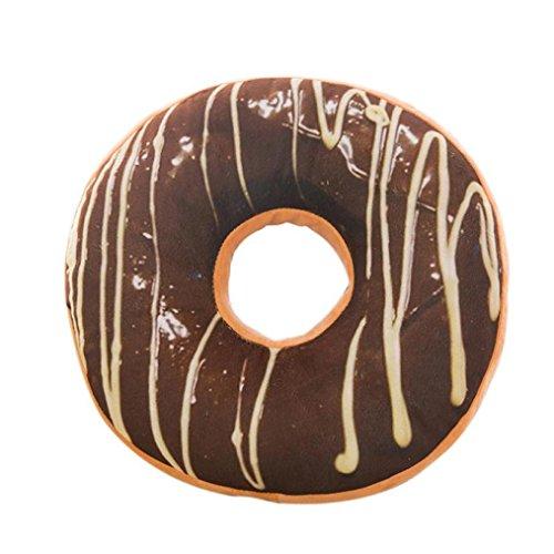 highpot Sweet Donut comida suave felpa almohada peluche cojín para asiento cojín funda juguetes