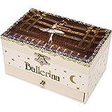 TROUSSELIER - Ballerina le Film - Boîte à Bijoux Musicale - Idéal Cadeau...