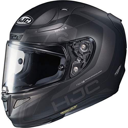 HJC RPHA 11 Pro Helmet - Chakri (Medium) (Black/Grey)