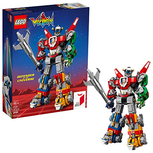 LEGO Ideas Voltron 21311 Building Kit (2321 Pieces), Frustration-Free Packaging