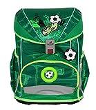 DerDieDas Ergoflex Superlight - Mochila escolar (5 piezas) Green Goal. talla única