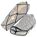 Yaktrax Walk Traction Cleats for Walking on Snow and Ice (1 Pair), Medium
