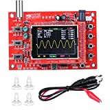DSO138 Oscilloscope, DSO 138 DIY Mini Oscilloscope, 2.4' TFT 1MSPS Digital Oscilloscope Kit Handheld Pocket Sized 13803K (Welded Version)