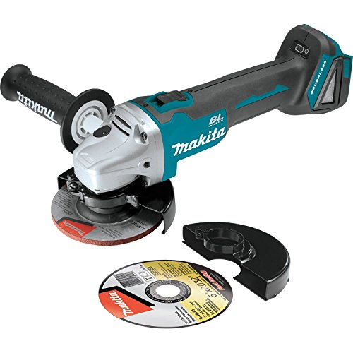 """Makita XAG04Z 18V LXT Lithium-Ion Brushless Cordless 4-1/2"""" / 5' Cut-Off/Angle Grinder, Tool Only"""