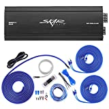 Skar Audio RP-150.4AB 1, 000 Watt 4-Channel Car Amplifier with 4 Gauge Ofc Amp Wiring Kit Bundle