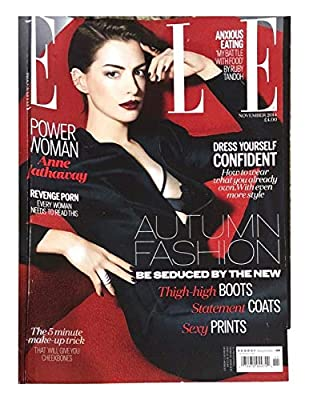 Issue Type:NOVEMBER 2014, Country/Region Of Manufacture:United States, Language:English Country Of Manufacture:United States, Publication Name:ELLE, Year Published:2014 Publication Year:2014, Subject:ELLE