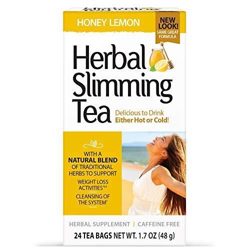 21st Century Slimming Tea, Honey Lemon, 24 count 1