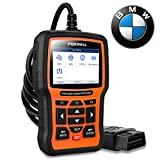 FOXWELL NT510 Elite Full Systems Scanner for BMW Automotive Obd2 Code Reader Bidirectional Diagnostic Scan Tool with SRS EPB SAS TPS Oil Reset Battery Registration