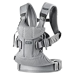 Comfortable and ergonomic carrier perfect for children aged 0-36 months Size adaptable design for the wearer and baby Airy, lightweight, and machine washable mesh fabric that is soft for the child Four ergonomic front and back carrying positions: new...