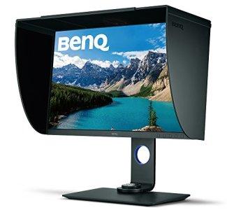 BenQ SW271 27 inch 4K Monitor Photo Editing IPS 3840x2160 UHD, HDR, AQCOLOR 99% Adobe RGB, 100% sRGB, Rec.709, DCI-P3, Hardware Calibration, 14-bit 3D LUT, GamutDuo, USB-C, DP, HDMI