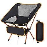 Lambony Chaise Pliante Chaise de Camping Légère et Solide avec Sac de Transport, pour la...