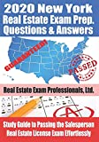 2020 New York Real Estate Exam Prep Questions and Answers: Study Guide to Passing the Salesperson Real Estate License Exam Effortlessly