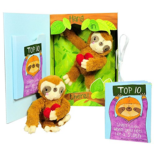 Get Well Gifts - Feel Like a Sloth? Hang in There! Get Well...