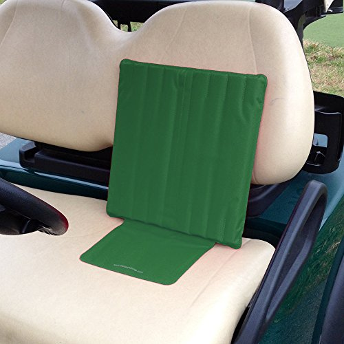The Back Thing Recreational (Green) - Back Pain Support for Golf Carts - Lower Back Support for Wheelchairs - Back Pain Relief