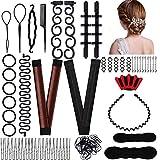 YMHPRIDE Kit d'outils d'accessoires de coiffure pour femmes filles,...