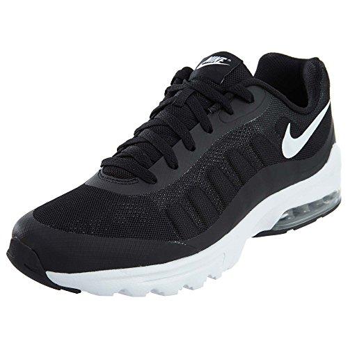 Nike Herren Air Max Invigor Laufschuhe, Schwarz (Black/White 010), 42.5 EU