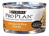 Purina Pro Plan Wet Cat Food, Savor, Adult Chicken and Rice Entre, 3-Ounce Can, Pack of  24