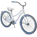 Huffy 26' Cranbrook Womens Cruiser Bike - White/Blue