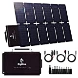 100W ETFE Portable Solar Panels, BigBlue Folding...