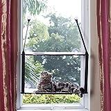 L.S Hamac Chat Fenetre Lit Chat Fenêtre Hamac Jusqu'à 25kg Cadre Métallique Dtable Tapis Doux Minou...