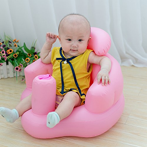 Seduta di sicurezza gonfiabile per bambini, per il gioco e il bagnetto, Multifunzionale, per i...