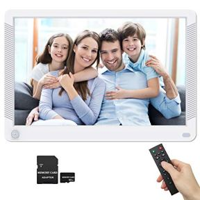 Digital-Photo-Frame-101-Inch-1920x1080-169-Wide-Viewing-Angle-IPS-Screen-Motion-Sensor-Photo-Auto-Rotate-Auto-Play-Auto-Turn-OnOff-Background-Music-1080P-Video-Frame-Include-32GB-SD-Card