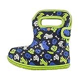 Bogs Kids Baby Bogs Waterproof Rainboot, Puppies-Blue, Size 10