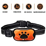 LOVATIC Dog Bark Collar - No Shock Vibration and Sound Humane