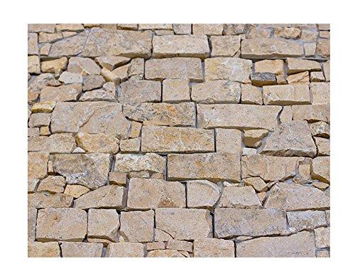 W-002 Wanddesign Naturstein Verblender Travertin Steinwand Klinker Wandverkleidung - 1 Muster - Fliesen Lager Verkauf Stein-MosaikHerne NRW