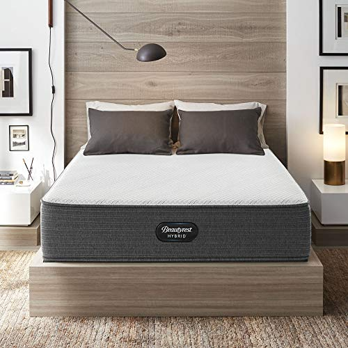 "Beautyrest Hybrid 13"" BRX1000-C Plush Innerspring Mattress, Twin XL"