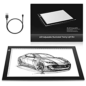 EASY CARRYING Super thin tracing light up box, super convenient, masterpiece designed drafting table. EYESIGHT-PROTECTED DESIGN. No shadow, no glare. The drawing pad provids the most comfortable lighting environment for animators, designers, art enth...