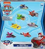 Paw Patrol, True Metal Jet to The Rescue Gift Pack with 7 Collectible Die-Cast Vehicles, 1:55 Scale,...