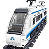 FZC-YM Technic Train Set, 941 Piezas Harmony High Speed Train Model Train Kit de construcción, Compatible con Lego