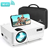 VANKYO Leisure 470 Mini Projector with Synchronize Smart Phone Screen, Full HD 1080P Supported and 250'' Display, WiFi Portable Projector Compatible with TV Stick, PS4, HDMI, VGA, TF, AV, USB