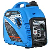 Pulsar 2,200W Portable Dual Fuel Quiet Inverter Generator with USB Outlet & Parallel Capability,...