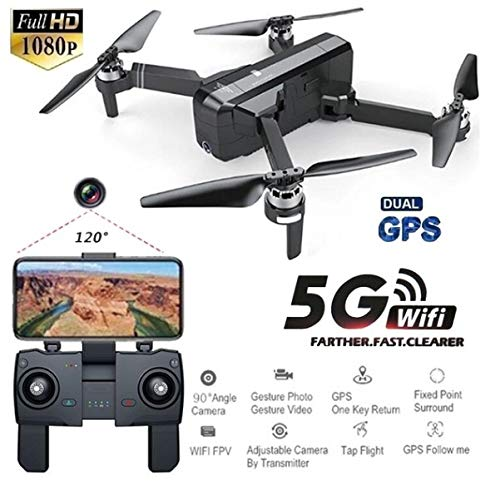 SJRC F11 GPS 5G WiFi FPV con Fotocamera 1080P 25mins Tempo di Volo Brushless Selfie RC Drone Quadcopter