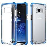 Galaxy S8 Plus Case, MoKo Crystal...