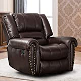 CANMOV Leather Recliner Chair,...