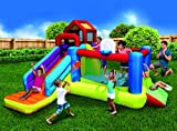 BANZAI 2-in1 Ultimate Combo Pack Bouncer and Water Parks