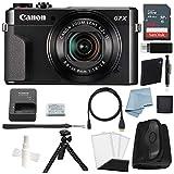 Canon G7x Mark II Digital Camera Bundle + Canon PowerShot g7 x Mark II Deluxe Accessory Kit -...