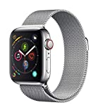 Apple Watch Series 4 (GPS + Cellular) cassa 40 mm in acciaio...