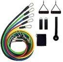 Cadina kit tubing 11 pieces elastic extender bravus functional exercise