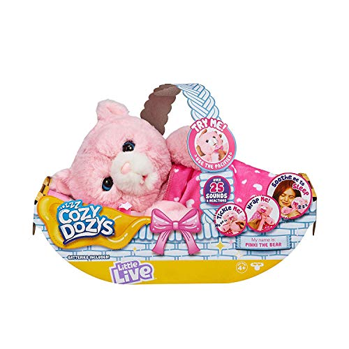 Little Live Pets Cozy Dozy Pinki The Bear