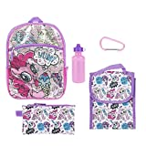 My Little Pony Purple Sequin Back to School Essentials Set for Girls