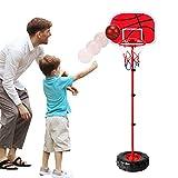 Juego de baloncesto portátil ajustable para niños con red y pelota Juego de juego deportivo...